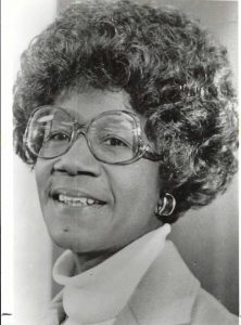 Picture of Congresswoman Shirley Chisholm