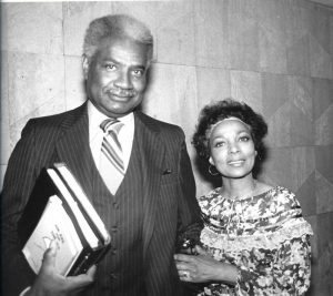 Ossie Davis and Ruby Dee, African-Americans' first family of the arts and entertainment. Solidarity Weekend guests in 1981.