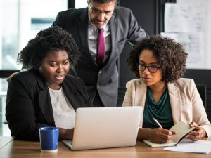 african-american-african-descent-afro-american-analyzing-beverage-black-people-brainstorming-business-business-people-caucasian-cheerful-coffee-communication-computer-cup-digital-dev